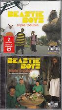 BEASTIE BOYS TRIPLE TROUBLE UK 2xCD SINGLE SET NEW/UNPLAYED