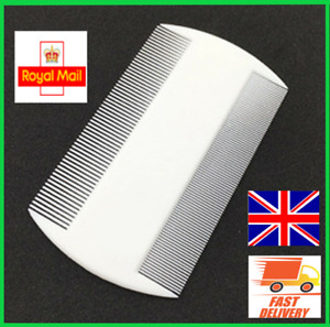 Fine Tooth Comb Double side Lice Nit Comb Hair Itchy Children Adult Pet Dog Cat