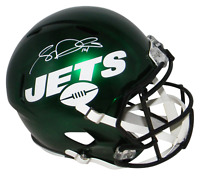 SAM DARNOLD AUTOGRAPHED SIGNED NEW YORK JETS 2019 FULL SIZE SPEED HELMET BECKETT