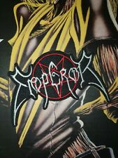 Emperor Shape Patch Gestickt  Battle Jacket Black Metal Dark Funeral