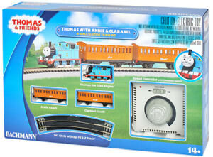 N-Gauge - Bachmann - Thomas with Annie & Clarabel Electric Train Set