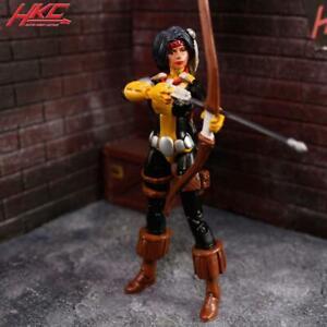 Custom DANI MOONSTAR Marvel Universe 3.75 action figure 1/18 scale X-men X-Force