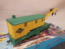 HO SCALE READING 90905 CUSTOM DECORATED WRECKING CRANE
