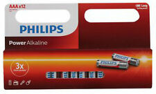 VALUE pack 12x AAA HD quality long life alkaline penlight batteries PHILIPS LR03