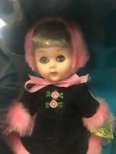 "Vintage 1984 Vogue Ice SKATING FUN 70041 8"" Poseable Baby Doll Blond NIB Skate"