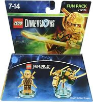 LEGO Dimensions Ninjago Lloyd Fun Pack 71239 Original UK Release