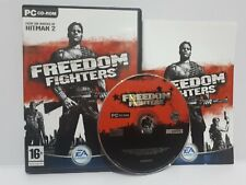 Freedom Fighters (PC) Region Free Disc Mint Complete Excellent Condition J1L