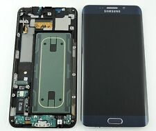 Lcd Display Touch Originale Samsung G928F S6 EDGE + PLUS Nero G928 SM-G928F