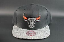 Mitchell & Ness NBA Chicago Bulls Woven SP18 Adjustable Snapback Hat Cap HWC