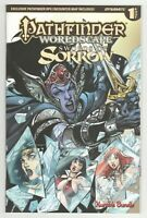 Pathfinder Worldscape - Swords of Sorrow #1 w/ Map (Dynamite 2018) Humble Bundle