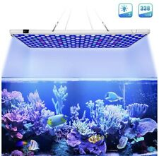 Aquarium Light 300W Full Spectrum Led Coral Reef Light 2 Dimmable White & Blue