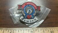 NEW! AMA 75th Anniversary Pin 1924-1999 Original Unopened Package Very Nice!