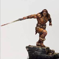 1:24 Barbarian Swordsman Unpainted Resin Model Kit