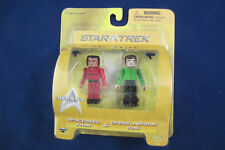 Star Trek Mini Mates Figure 2-pack Series 3 Space Seed Khan & Dress Uniform Kirk