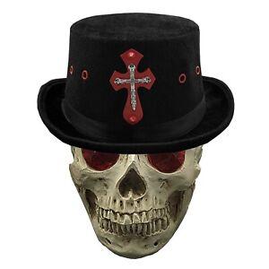 Steampunk Gothic Cross Top Hat Cosplay Men's Cap