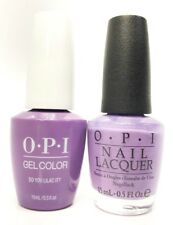 Opi Soak-Off GelColor Gel Polish + Nail Polish Do You Lilac It? GC-B29 - 0.5 oz
