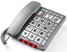 SAIET TELEFONO FISSO FAMILY TASTI GRANDI VIVAVOCE TASTI RAPIDI PER ANZIANI