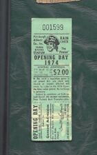 1974 4/10 baseball ticket Montreal Expos v Pittsburgh Pirates Dave Parker 2 RBI