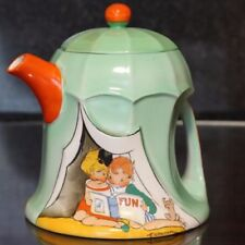 Teapot Art Deco Decorative Shelley Porcelain & China