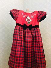 Walt Disney World Christmas Dress Nwt Minnie Mouse Girl girls holiday