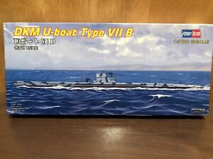 DKM U-boat type VII B hobby boss # 87008 1/700 scale
