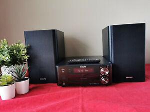 Kompaktanlage Philips MCD122Minianlage StereoanlageRadio DVD/CD/MP3/USB