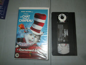 Le Chat Dans Le Chapeau/ Cat In The Hat  (VHS)(French) Clamshell