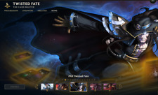 (NA) PAX Twisted Fate | League of Legends Account | 44 Champs | 23 Skins