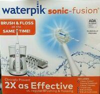 Waterpik Sonic Fusion Flossing Toothbrush Set Brushing & Flossing & Travel Case