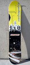 METROPOLIS 110 CM SNOWBOARD YOUTH P-TEX BASE STEEL EDGE, NEW ON HALF PRICE SALE!