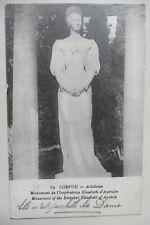 Monument de l'impératrice Elisabeth d'Autriche à Corfou Denkmal Korfu