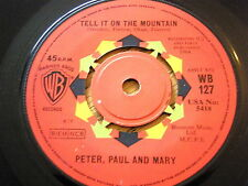 "PETER, PAUL & MARY - TELL IT ON THE MOUNTAIN  7"" VINYL"