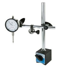 Grizzly Dial Test Indicator Gauge With Magnetic Base Stand Holder Combo Set Kit