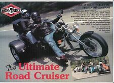 Two 1990s BON-TRIKE Australian Brochures VOLKSWAGEN Powered HS3