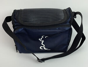 Disney Mickey Mouse Silhouette Blue Lunch Tote Insulated Cooler Bag By Gemline