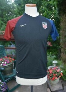 2016 Rio Olympics NIKE Dri-Fit Authentic USA Soccer Jersey/Shirt Unisex Youth XL