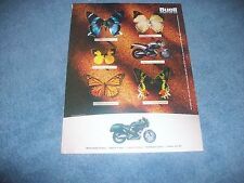 """2000 Buell Thunderbolt S3 S3T Motorcycle Sport Bike Ad """"Different in Every Sense"""