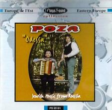 POZA Odessa CD Jewish Music from Russia 1996 rare Eastern Europe