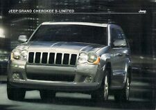 Jeep Grand Cherokee S-Limited 3.0 V6 CRD 2008 UK Market Sales Brochure