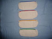 kleine Tücher anmalen Deckchen 4-er Set Servietten Baumwolle zum Bemalen