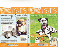 Burkes Backyard:Dream Dogs and Cool Cats-1987/2004-TV Series Australia-DVD