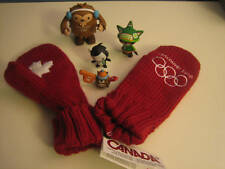 Vancouver 2010 HBC CANADA Olympic red mittens Adult S/M