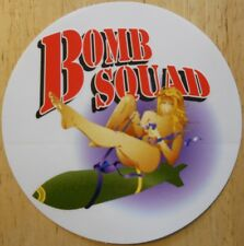 Bomb Squad (EOD) Explosive Ordnance Disposal Decal