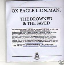 (M635) Ox.Eagle.Lion.Man,The Drowned & The Saved- DJ CD