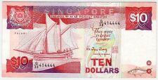 Singapore Ship Series $10 414444