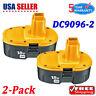 2PACK For Dewalt 18V XRP NICD Battery DC9096-2 DC9098 DC9099 DW9095 DW9096 Drill