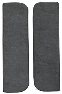1986-1989 Dodge D350 Cutpile Carpet Door Panel Inserts with Cardboard 2pc