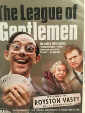 THE LEAGUE OF GENTLEMEN - Third Series - Region 4 PAL - 2 Disc DVD Set