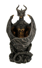 Guardian of the Light Armored Dragon LED Night Light Statue 10 Inch