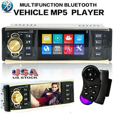 "4.1"" Bluetooth Car Stereo Audio In-Dash FM Aux Input Receiver SD USB MP3 Radio"
